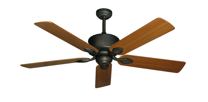 """Picture of Hercules Oil Rubbed Bronze with 52"""" Teak Blades"""