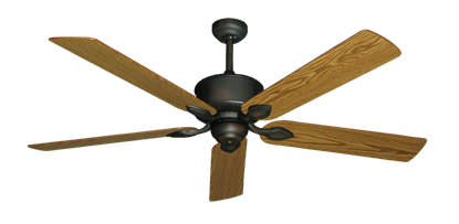 "Picture of Hercules Oil Rubbed Bronze with 60"" Oak Blades"
