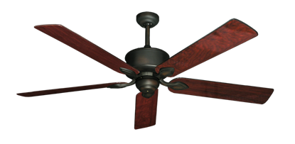 "Picture of Hercules Oil Rubbed Bronze with 60"" Cherrywood Gloss Blades"