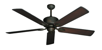 "Picture of Hercules Oil Rubbed Bronze with 60"" Distressed Cherry Blades"