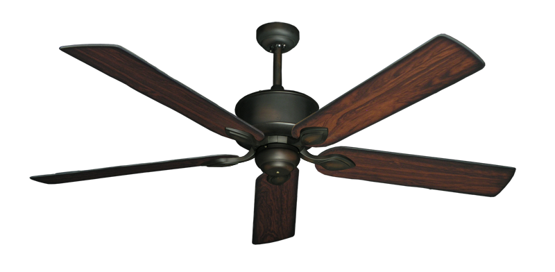 "Picture of Hercules Oil Rubbed Bronze with 60"" Burnt Cherry Blades"
