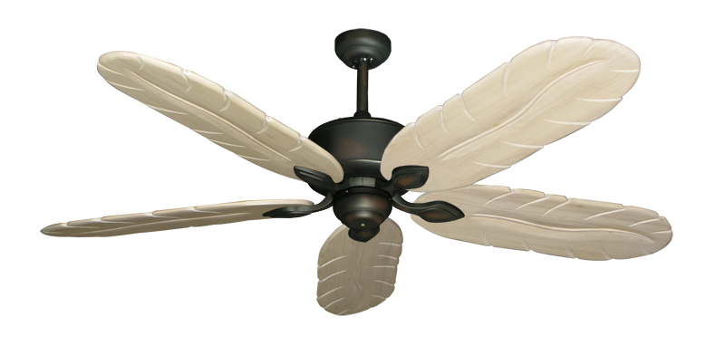 """Picture of Hercules Oil Rubbed Bronze with 58"""" Series 500 Arbor Whitewash Blades"""