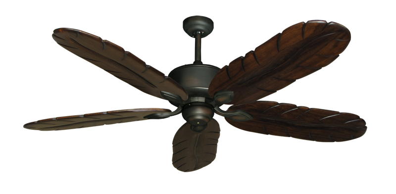 """Picture of Hercules Oil Rubbed Bronze with 58"""" Series 500 Arbor Dark Walnut Blades"""