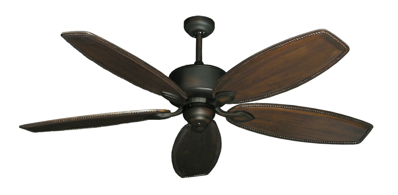 """Picture of Hercules Oil Rubbed Bronze with 60"""" Series 525 Arbor Dark Walnut Blades"""