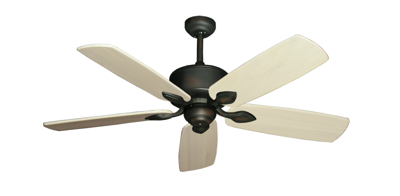 """Picture of Hercules Oil Rubbed Bronze with 52"""" Series 710 Arbor Whitewash Blades"""