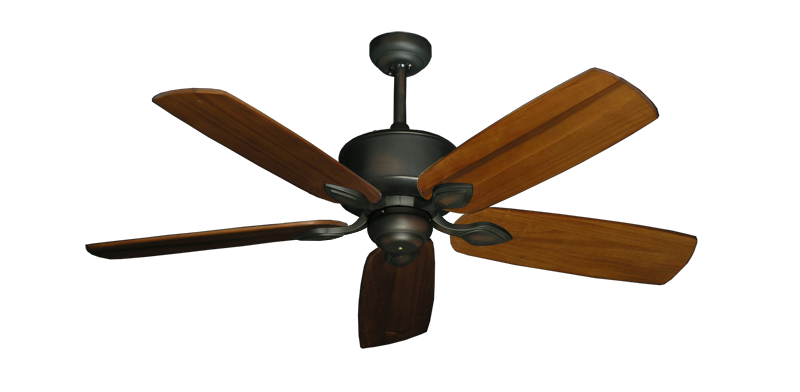 """Picture of Hercules Oil Rubbed Bronze with 52"""" Series 710 Arbor Oak Blades"""