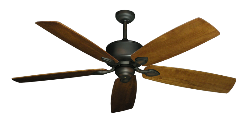 """Picture of Hercules Oil Rubbed Bronze with 60"""" Series 725 Arbor Oak Blades"""