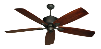 "Picture of Hercules Oil Rubbed Bronze with 60"" Series 725 Arbor Cherrywood Blades"
