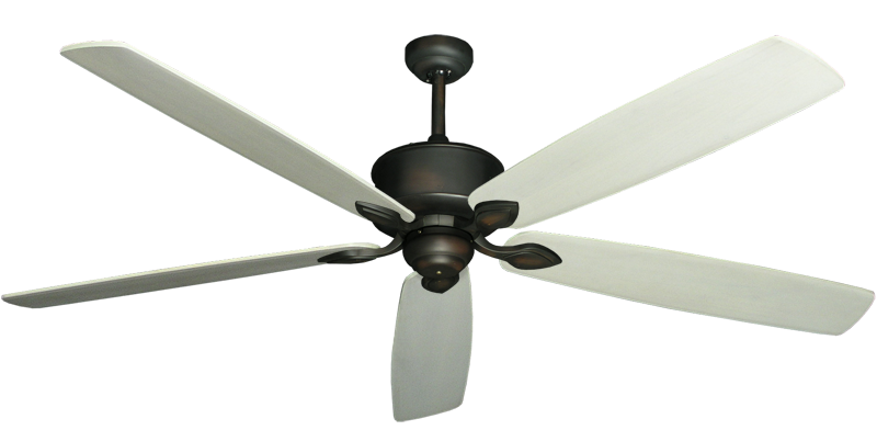 "Picture of Hercules Oil Rubbed Bronze with 72"" Series 750 Arbor Whitewash Blades"