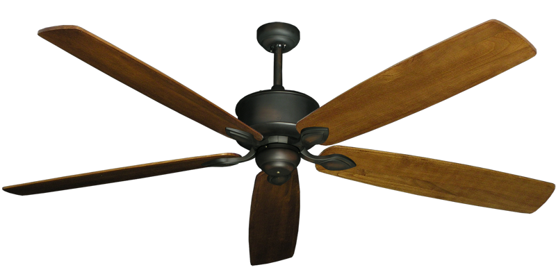 """Picture of Hercules Oil Rubbed Bronze with 72"""" Series 750 Arbor Oak Blades"""