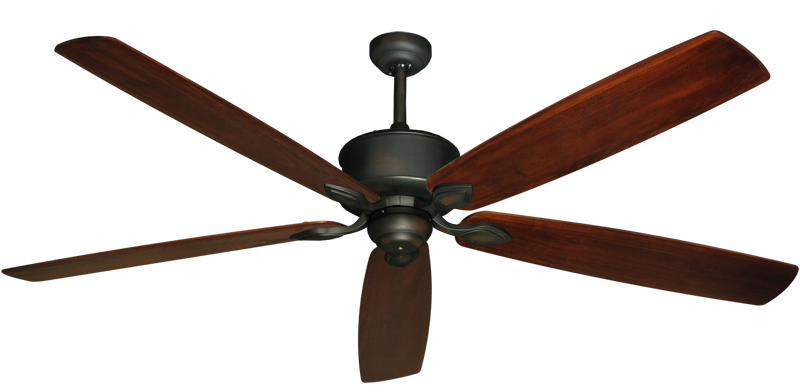 """Picture of Hercules Oil Rubbed Bronze with 72"""" Series 750 Arbor Cherrywood Blades"""