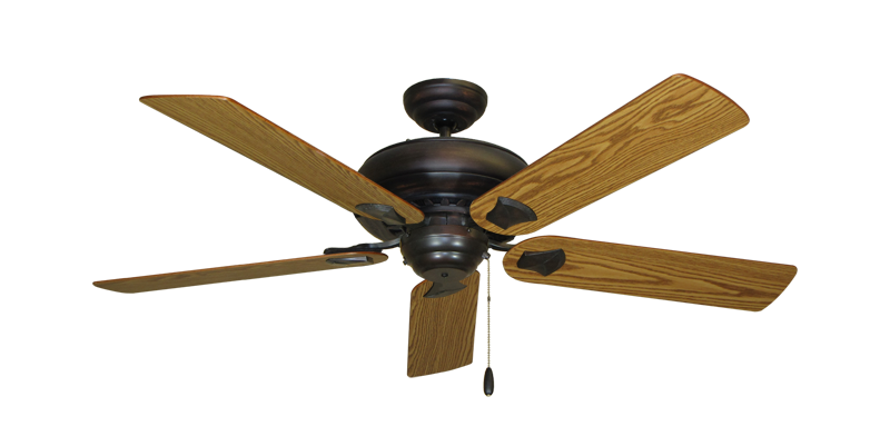 """Picture of Tiara Oil Rubbed Bronze with 52"""" Oak Blades"""