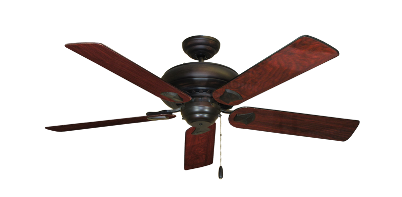 """Picture of Tiara Oil Rubbed Bronze with 52"""" Cherrywood Gloss Blades"""