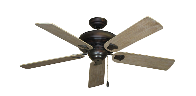 "Picture of Tiara Oil Rubbed Bronze with 52"" Driftwood Blades"