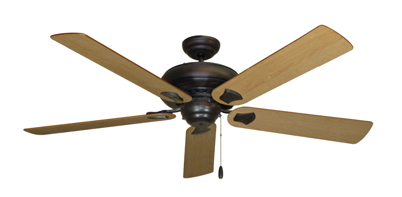 """Picture of Tiara Oil Rubbed Bronze with 60"""" Maple Blades"""