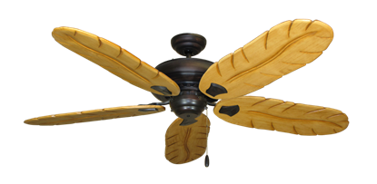 """Picture of Tiara Oil Rubbed Bronze with 58"""" Series 500 Arbor Maple Blades"""