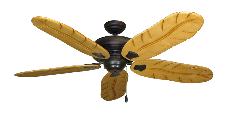 "Picture of Tiara Oil Rubbed Bronze with 58"" Series 500 Arbor Maple Blades"