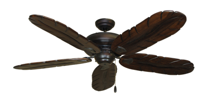 """Picture of Tiara Oil Rubbed Bronze with 58"""" Series 500 Arbor Dark Walnut Blades"""