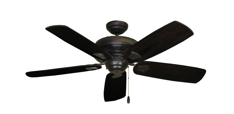 """Picture of Tiara Oil Rubbed Bronze with 52"""" Series 710 Arbor Dark Walnut Blades"""