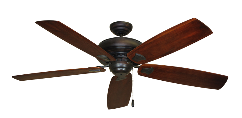 """Picture of Tiara Oil Rubbed Bronze with 60"""" Series 725 Arbor Cherrywood Blades"""