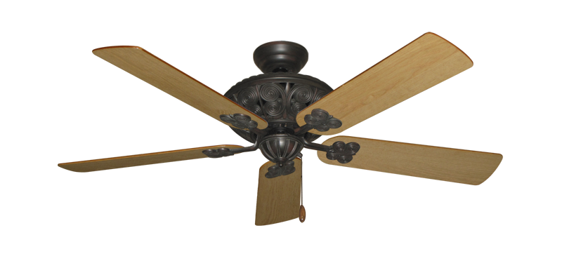 """Picture of Monarch Oil Rubbed Bronze with 52"""" Maple Blades"""