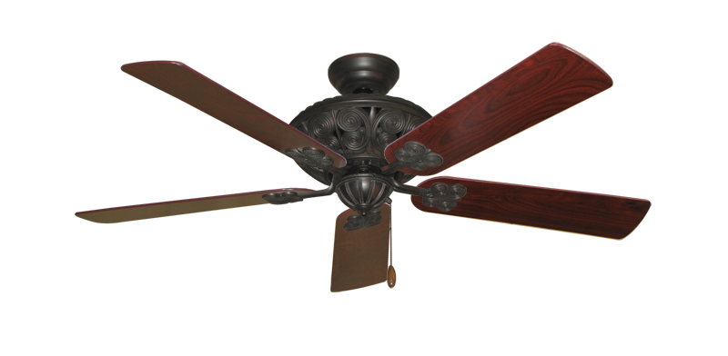 "Picture of Monarch Oil Rubbed Bronze with 52"" Cherrywood Blades"