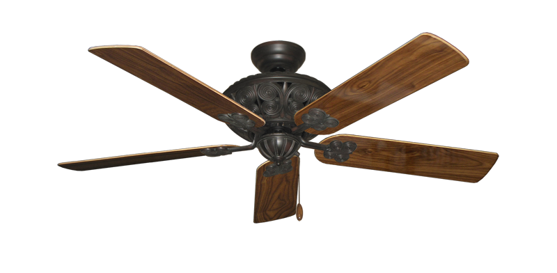 """Picture of Monarch Oil Rubbed Bronze with 52"""" Walnut Gloss Blades"""