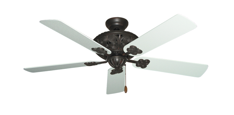 "Picture of Monarch Oil Rubbed Bronze with 52"" Textured White Blades"