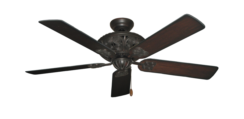 "Picture of Monarch Oil Rubbed Bronze with 52"" Distressed Cherry Blades"