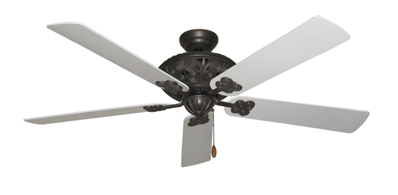 "Picture of Monarch Oil Rubbed Bronze with 60"" Pure White Blades"