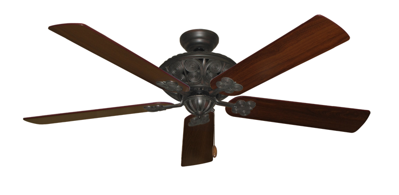 "Picture of Monarch Oil Rubbed Bronze with 60"" Walnut Blades"