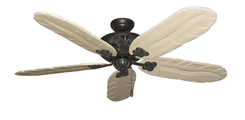 """Picture of Monarch Oil Rubbed Bronze with 58"""" Series 500 Arbor Whitewash Blades"""