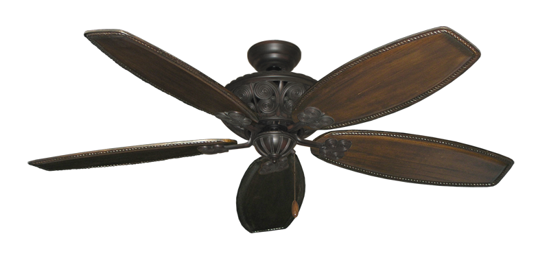 "Picture of Monarch Oil Rubbed Bronze with 60"" Series 525 Arbor Dark Walnut Blades"