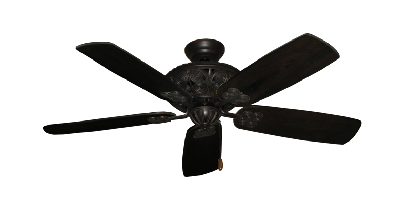 "Picture of Monarch Oil Rubbed Bronze with 52"" Series 710 Arbor Dark Walnut Blades"