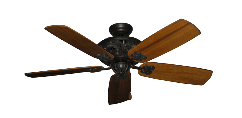 """Picture of Monarch Oil Rubbed Bronze with 52"""" Series 710 Arbor Oak Blades"""