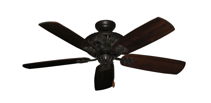 "Picture of Monarch Oil Rubbed Bronze with 52"" Series 710 Arbor Cherrywood Blades"