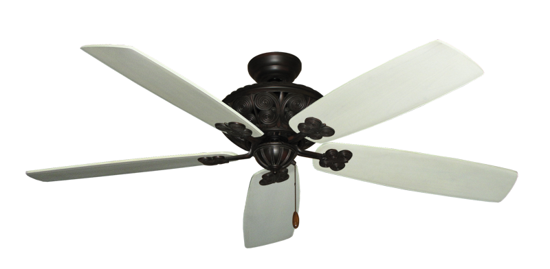 """Picture of Monarch Oil Rubbed Bronze with 60"""" Series 725 Arbor Whitewash Blades"""