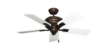 """Picture of Madeira Oil Rubbed Bronze with 44"""" Pure White Blades"""