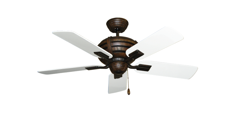 "Picture of Madeira Oil Rubbed Bronze with 44"" Pure White Blades"