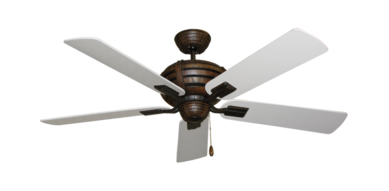 "Picture of Madeira Oil Rubbed Bronze with 52"" Pure White Blades"