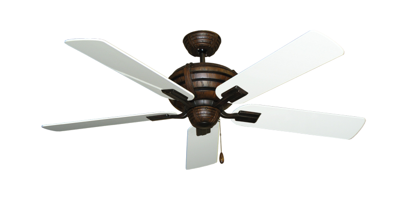 "Picture of Madeira Oil Rubbed Bronze with 52"" Pure White Gloss Blades"