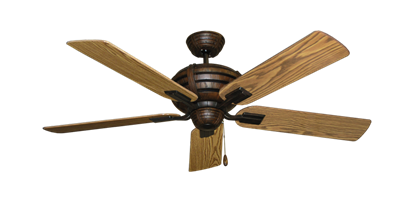 """Picture of Madeira Oil Rubbed Bronze with 52"""" Oak Gloss Blades"""