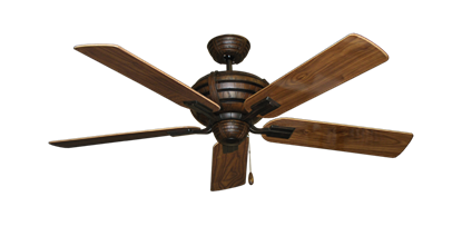 """Picture of Madeira Oil Rubbed Bronze with 52"""" Walnut Gloss Blades"""