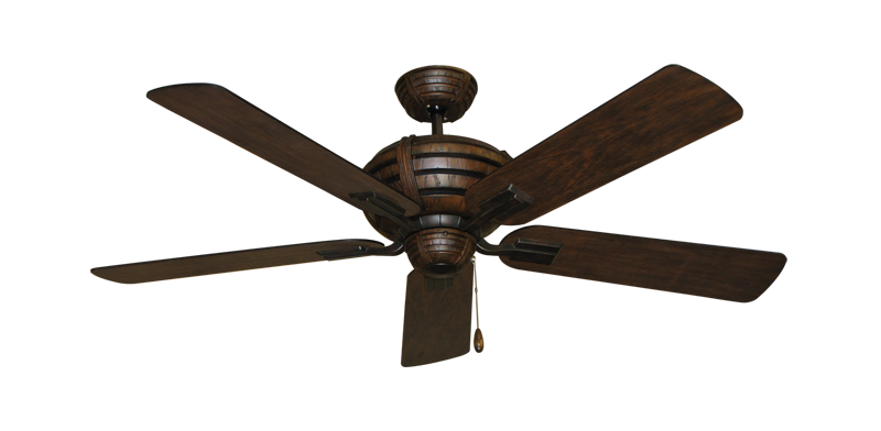 """Picture of Madeira Oil Rubbed Bronze with 52"""" Distressed Hickory Blades"""
