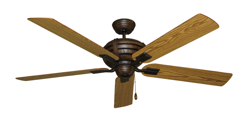 """Picture of Madeira Oil Rubbed Bronze with 60"""" Oak Blades"""