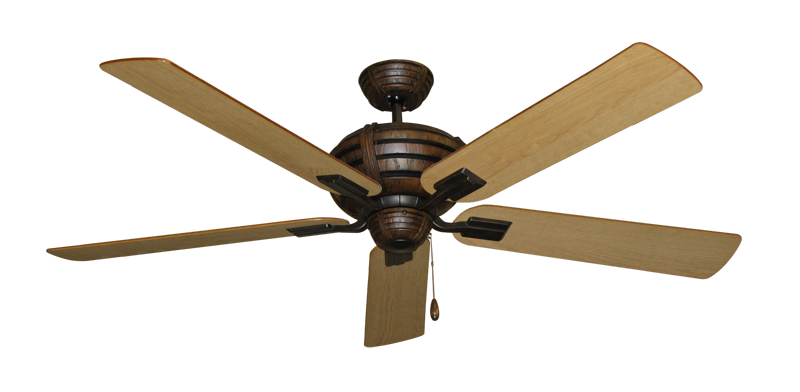 """Picture of Madeira Oil Rubbed Bronze with 60"""" Maple Blades"""