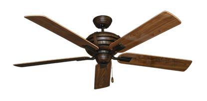 "Picture of Madeira Oil Rubbed Bronze with 60"" Walnut Gloss Blades"