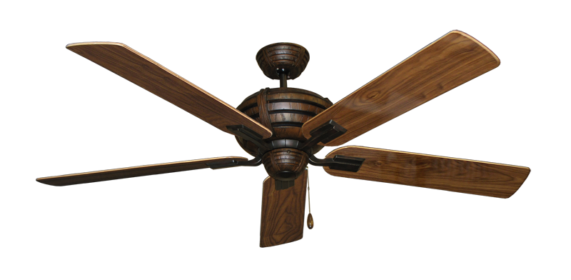 """Picture of Madeira Oil Rubbed Bronze with 60"""" Walnut Gloss Blades"""