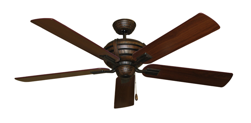 """Picture of Madeira Oil Rubbed Bronze with 60"""" Walnut Blades"""