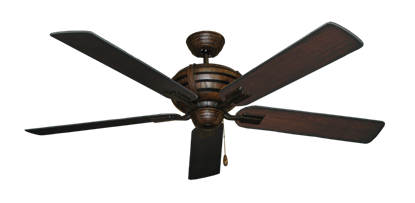 "Picture of Madeira Oil Rubbed Bronze with 60"" Distressed Cherry Blades"